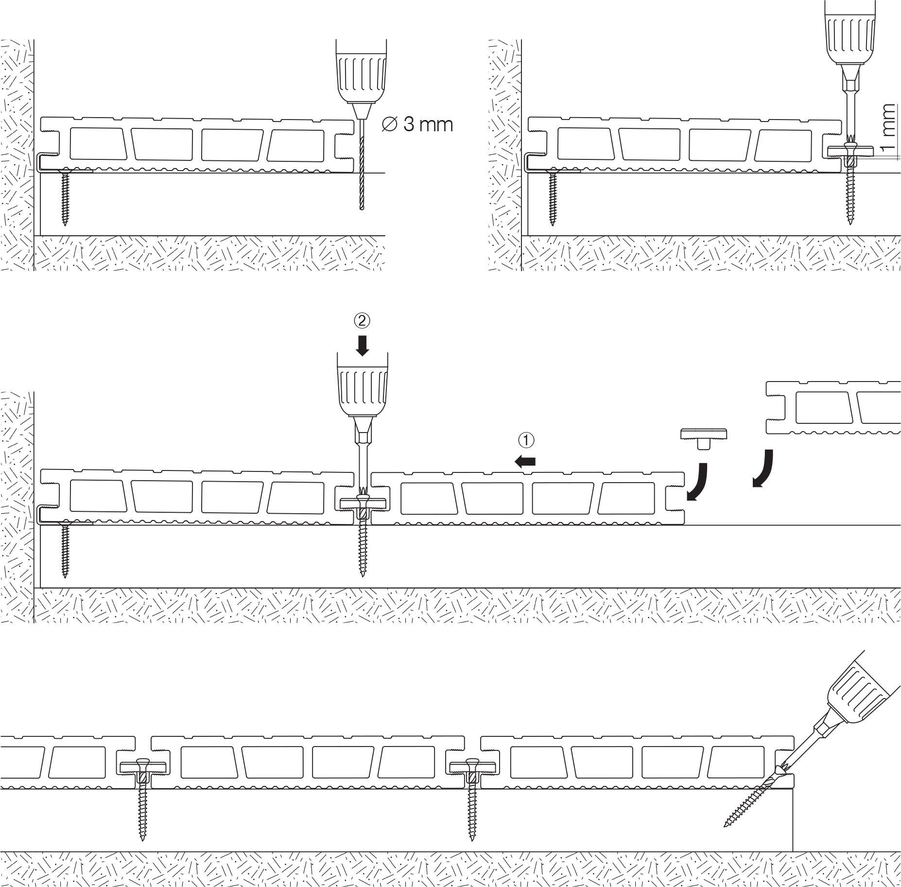 Instrukcja Montażu Rozszerzona Bergdeck Kompozytowe
